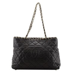 Chanel Chain Me Tote Quilted Calfskin Medium