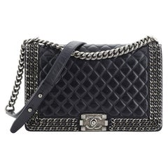 Chanel Chained Boy Flap Bag