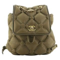 Chanel Chesterfield Backpack Iridescent Calfskin Medium