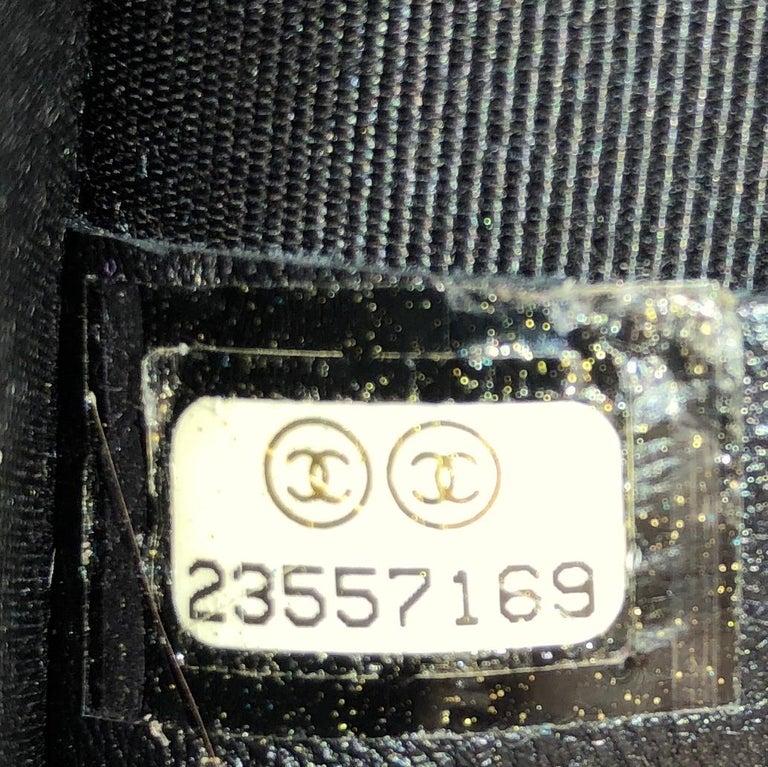 Chanel Chevron Couture Flap Bag Stitched Chevron Lambskin Medium For Sale 2