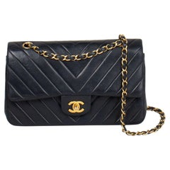 Chanel Chevron Medium Double Flap Bag