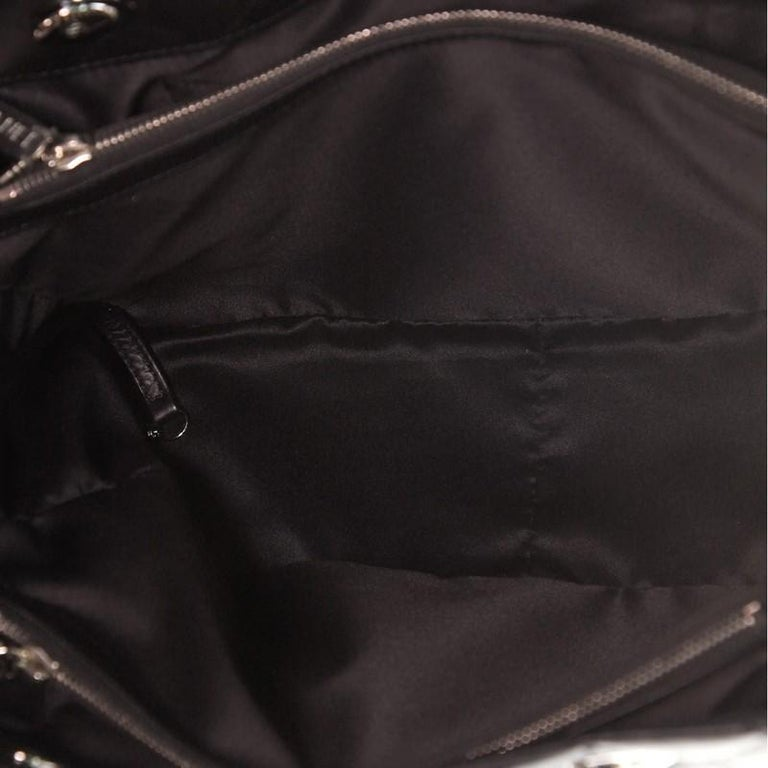 Chanel Chic and Soft Shopping Tote Quilted Calfskin Large For Sale 2