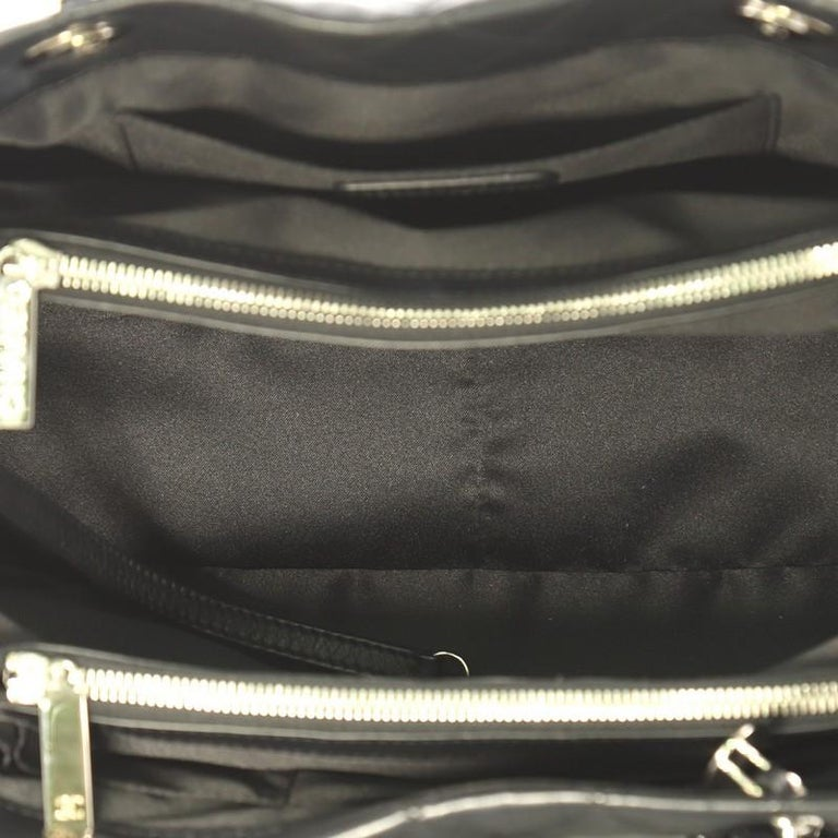 Chanel Chic and Soft Shopping Tote Quilted Calfskin Small 1