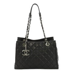 Chanel Chic and Soft Shopping Tote Quilted Calfskin Small