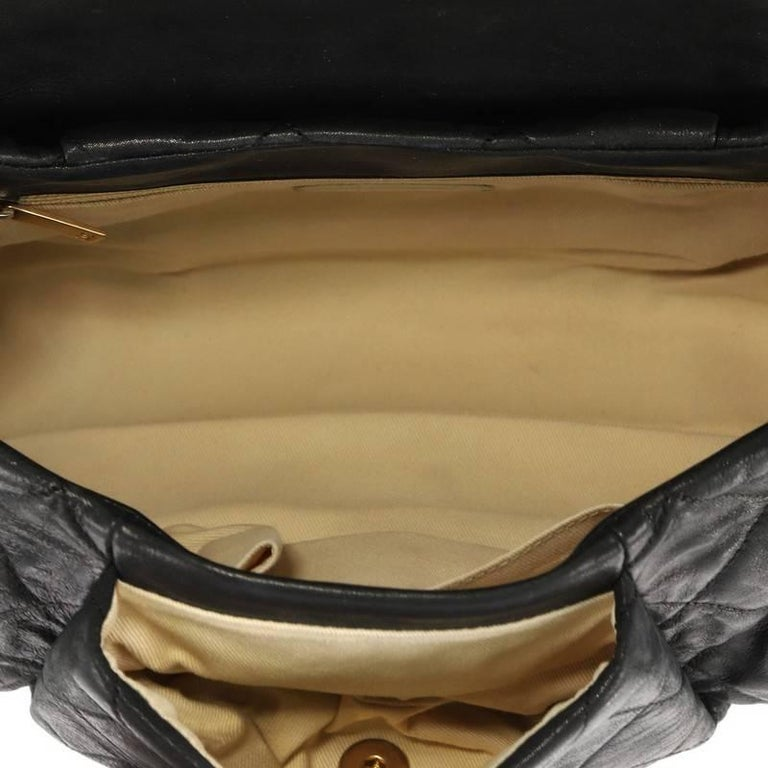 8ca6d230bb79 Chanel Chic Quilt Accordion Flap Bag Quilted Iridescent Calfskin Medium For  Sale 1