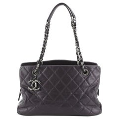 Chanel Chic Shopping Tote Quilted Caviar Small