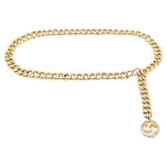 Chanel Chunky Chain Belt 1980s