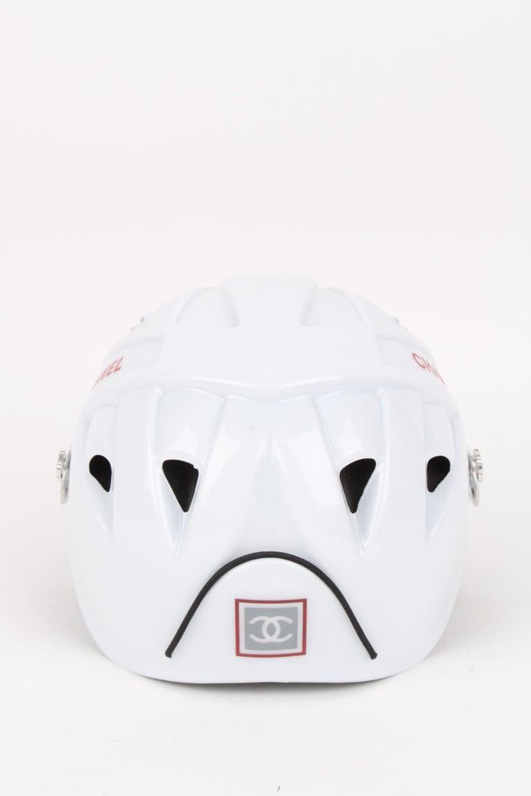 Women's or Men's CHANEL circa 1990s Edition Sport Line CC Logo Mountain Climbing Helmet For Sale