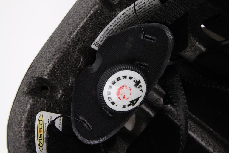 CHANEL circa 1990s Edition Sport Line CC Logo Mountain Climbing Helmet For Sale 3