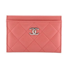Chanel Classic Card Holder Quilted Lambskin