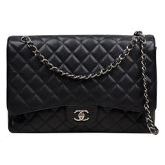 Chanel Classic Caviar Jumbo Single Flap Bag