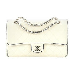 Chanel Classic Double Flap Bag Quilted Grosgrain Medium