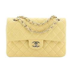 Chanel  Classic Double Flap Bag Quilted Lambskin Small