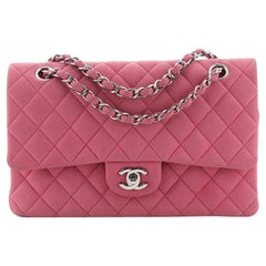 Chanel Classic Double Flap Bag Quilted Matte Caviar Medium