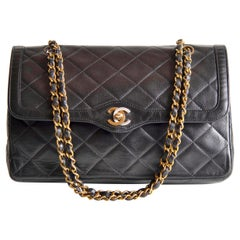 Chanel Classic Double Flap Lambskin Paris Edition