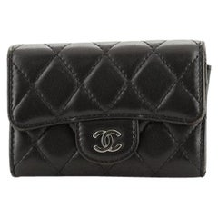 Chanel Classic Flap Card Case Quilted Lambskin
