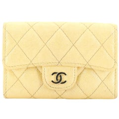 Chanel Classic Flap Card Holder Quilted Caviar