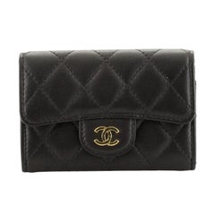 Chanel Classic Flap Card Holder Quilted Lambskin