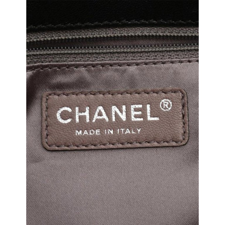 Chanel Classic Flap CC Obsession Rare Black with Dark Blue Pearls Lambskin Bag For Sale 1