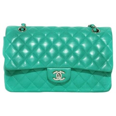 Chanel Classic Flap Sea Foam Green