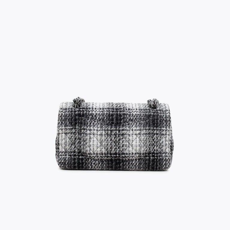 Black Chanel Classic Medium Double Flap Bag For Sale