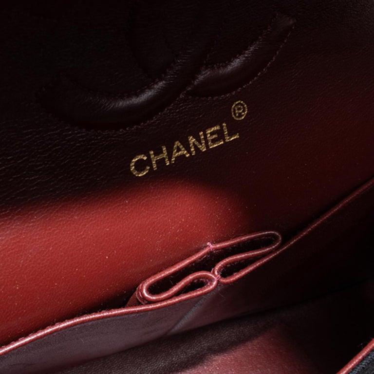 Chanel Classic Medium Jersey Double Flap Bag 1
