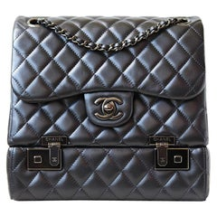 Chanel Classic Quilted Luggage Box Flap Bag