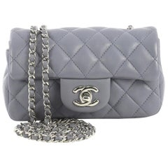 Chanel Classic Single Flap Bag Quilted Lambskin Extra Mini