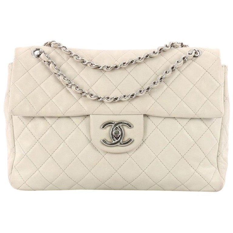 bfd321d309cd51 Chanel Classic Soft Flap Bag Quilted Caviar Maxi at 1stdibs