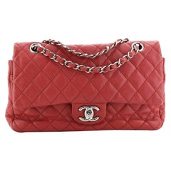 Chanel Classic Soft Flap Bag Quilted Caviar Medium