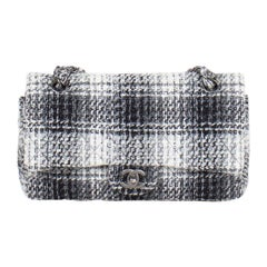 Chanel Classic Tweed Medium Double Flap Bag
