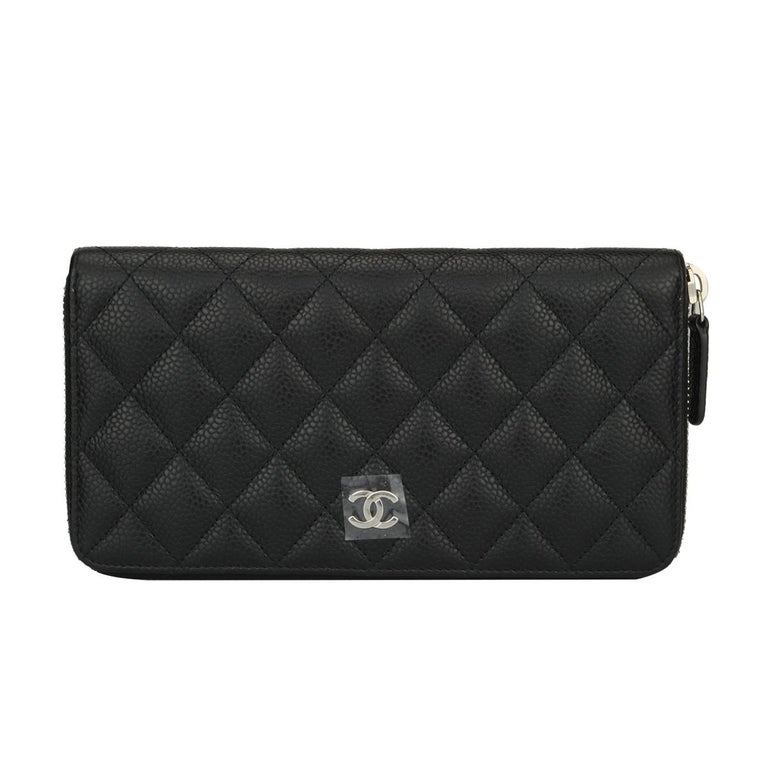 e1498ea304c0 Chanel Classic Zipped Wallet Caviar | Stanford Center for ...