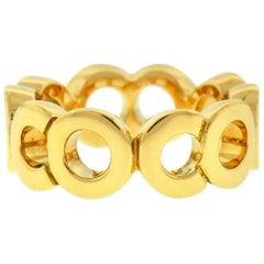 Chanel COCO 18 Karat Yellow Gold Ring