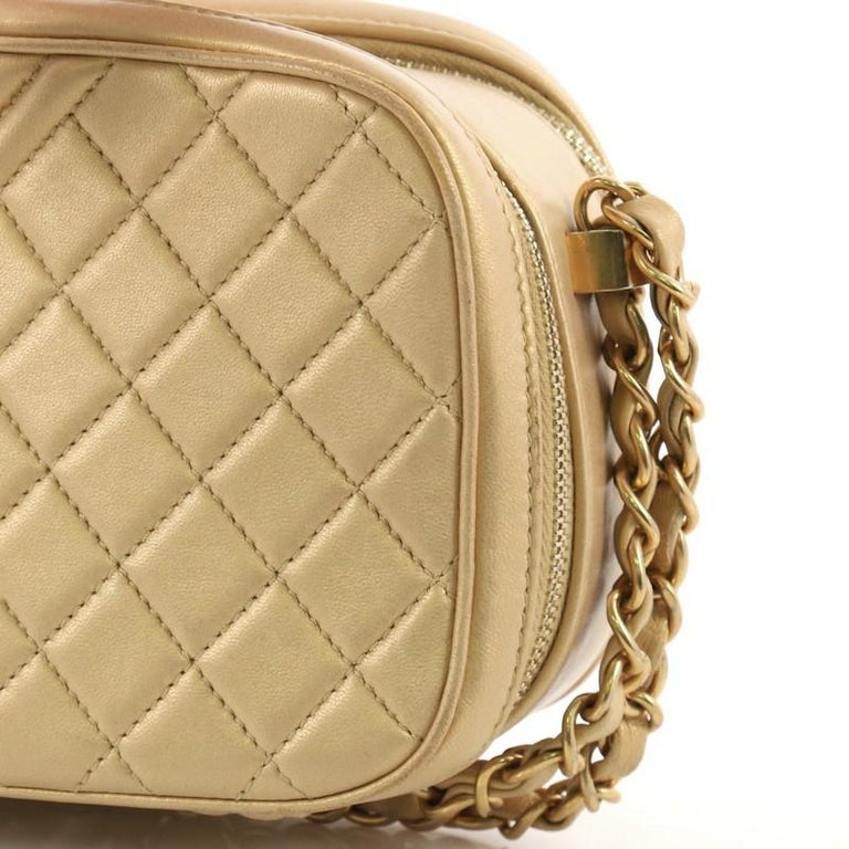 953fd07ec601 Chanel Coco Boy Camera Bag Quilted Leather Small For Sale at 1stdibs