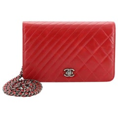 Chanel Coco Boy Wallet on Chain Quilted Aged Calfskin