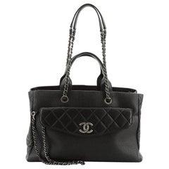 Chanel Coco Break Shopping Tote Caviar Large
