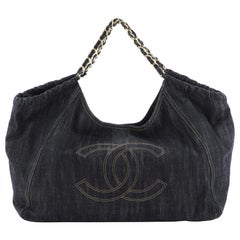 Chanel Coco Cabas Denim Large