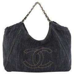 Chanel Coco Cabas Denim XL