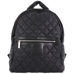 Chanel Coco Cocoon Backpack Quilted Nylon Large
