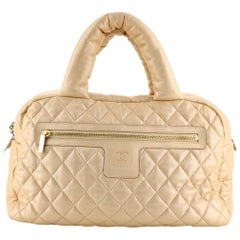 Chanel Coco Cocoon Quilted Large Bowling Bag