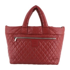 Chanel Coco Cocoon Reversible Tote Quilted Lambskin Large