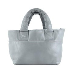 Chanel Coco Cocoon Reversible Tote Quilted Lambskin Small
