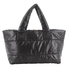 Chanel Coco Cocoon Reversible Tote Quilted Nylon Medium