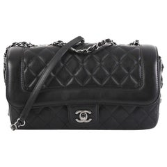 Chanel Coco Corset Flap Bag Quilted Calfskin Medium