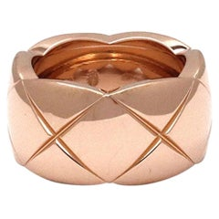 Chanel 'Coco Crush' Rose Gold Ring, Large Version