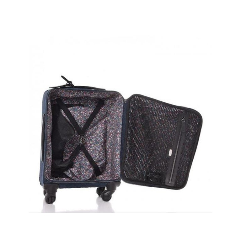 Black Chanel Coco Cuba Trolley Travel Luggage Rolling Carry On For Sale