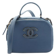 Chanel Coco Curve Vanity Case Calfskin and Quilted Goatskin Small