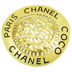 CHANEL COCO GP Womens brooch gold