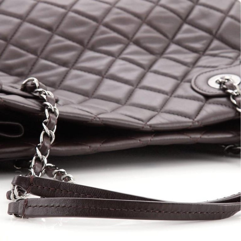 Chanel Coco Loop Tote Quilted Lambskin Small For Sale 2