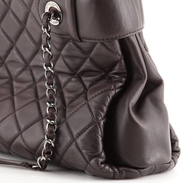 Chanel Coco Loop Tote Quilted Lambskin Small For Sale 3